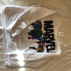 Super Plush Marvel Sweatshirt